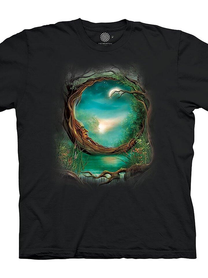 Suchen Sie ein originelles und außergewöhliches Geschenk? überrascht den Beschenkten sicher T-Shirt Mond