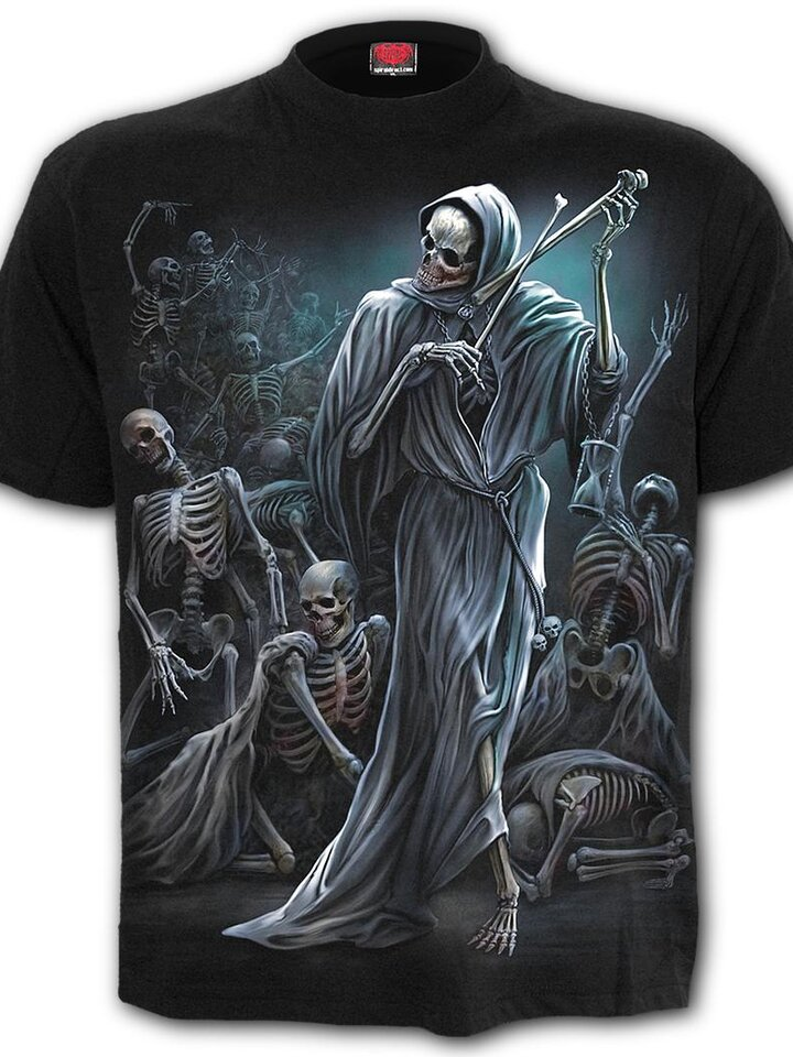 Geschenk von Dedoles Kurzarm T-Shirt Spiral Direct Dance of the Death