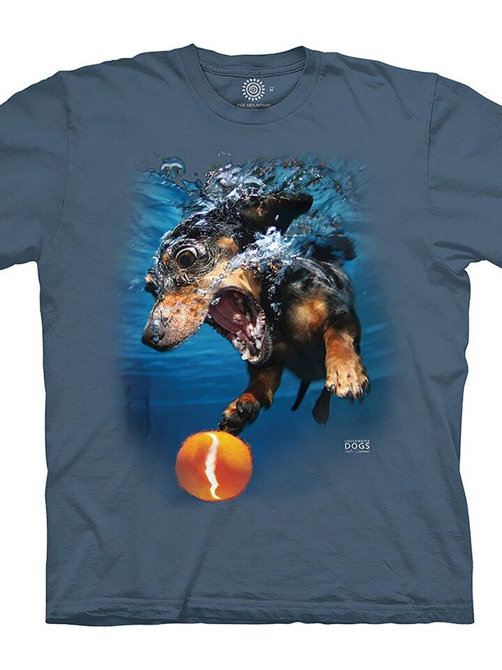pro dokonalý a originální outfit Tričko Pes ve vodě
