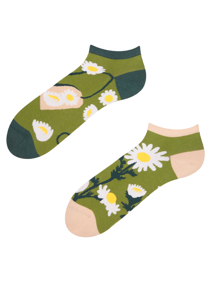 Výnimočný darček od Dedoles Členkové veselé ponožky Kamilkový čaj