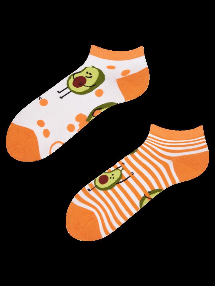Výpredaj Členkové veselé ponožky Vtipné avokádo