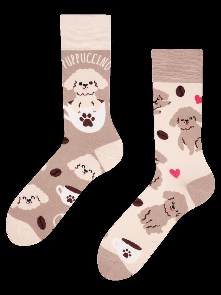 Výpredaj Vrolijke sokken Puppuccino