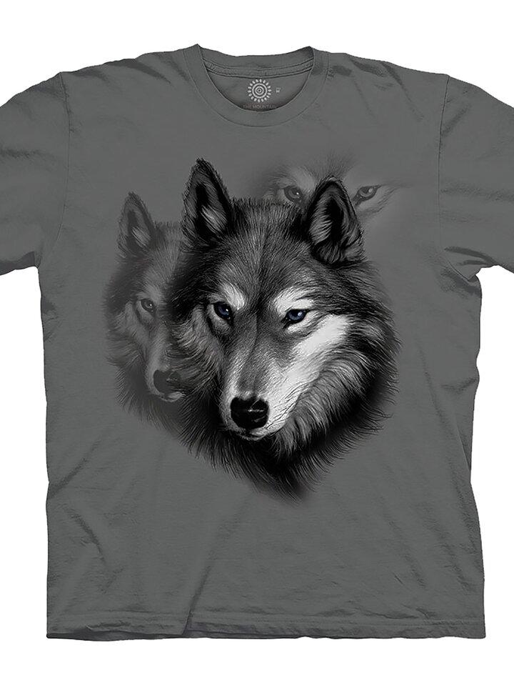 Lifestyle foto Tričko Portrét vlka
