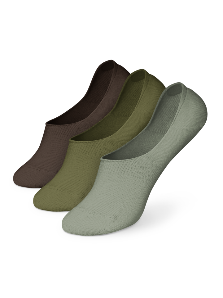 Sale Cotton No Show Socks 3-pack Camouflage