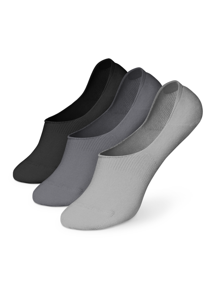Gift idea Cotton No Show Socks 3-pack Classic