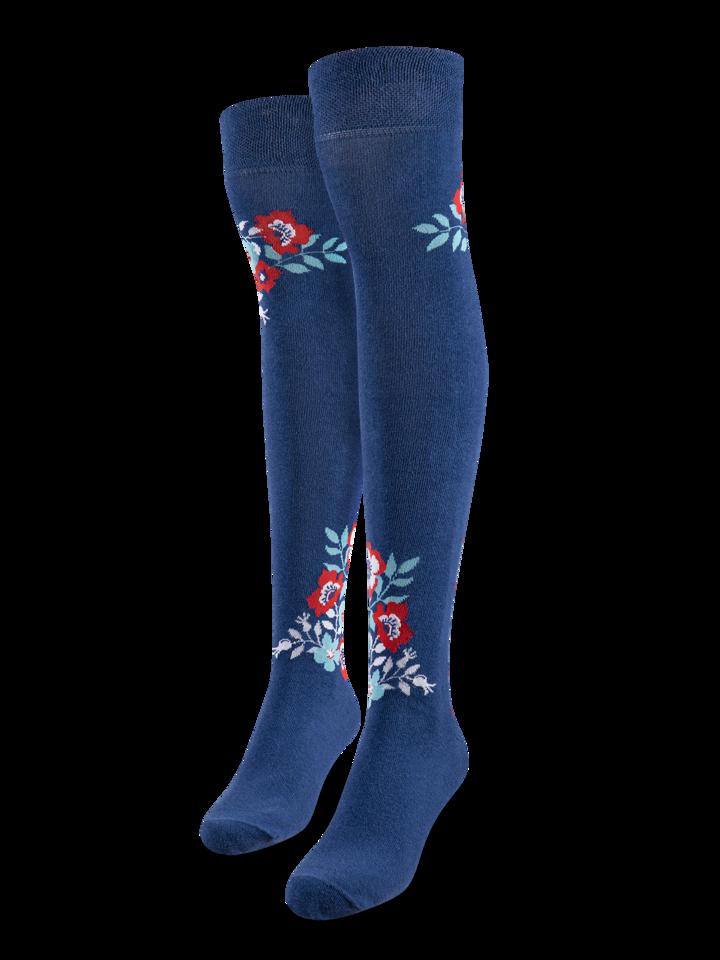 Potešte sa týmto kúskom Dedoles Over the Knee Socks Wild Flowers