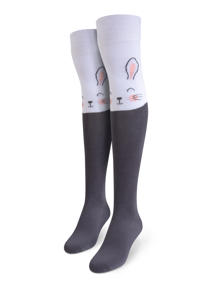 Looking for an original and unusual gift? The gifted person will surely surprise with Over the Knee Socks Bunny