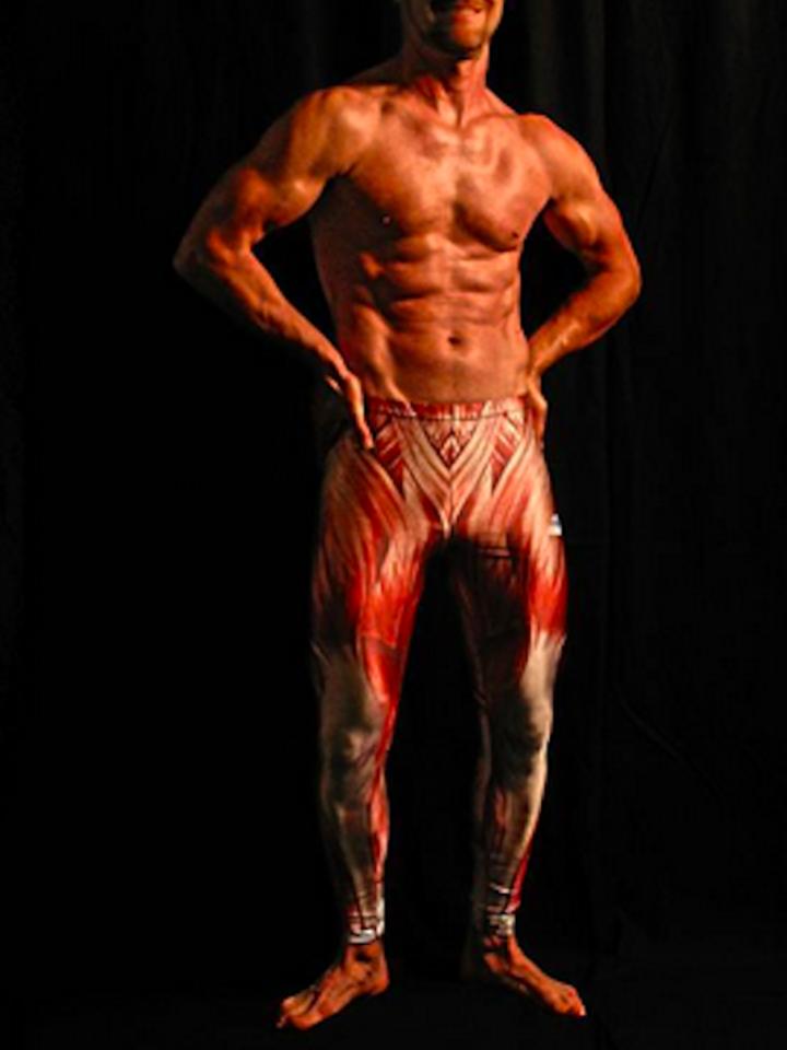 Suchen Sie ein originelles und außergewöhliches Geschenk? überrascht den Beschenkten sicher Herren Sport Leggings Muskeln