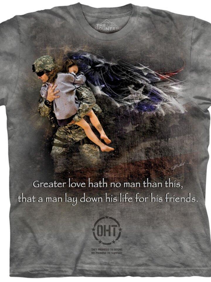 Tip na darček Tričko Záchranca priateľov