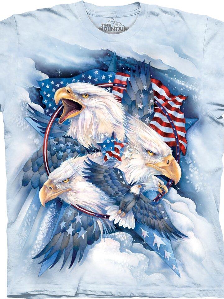 Potešte sa týmto kúskom Dedoles Tričko Americké orly