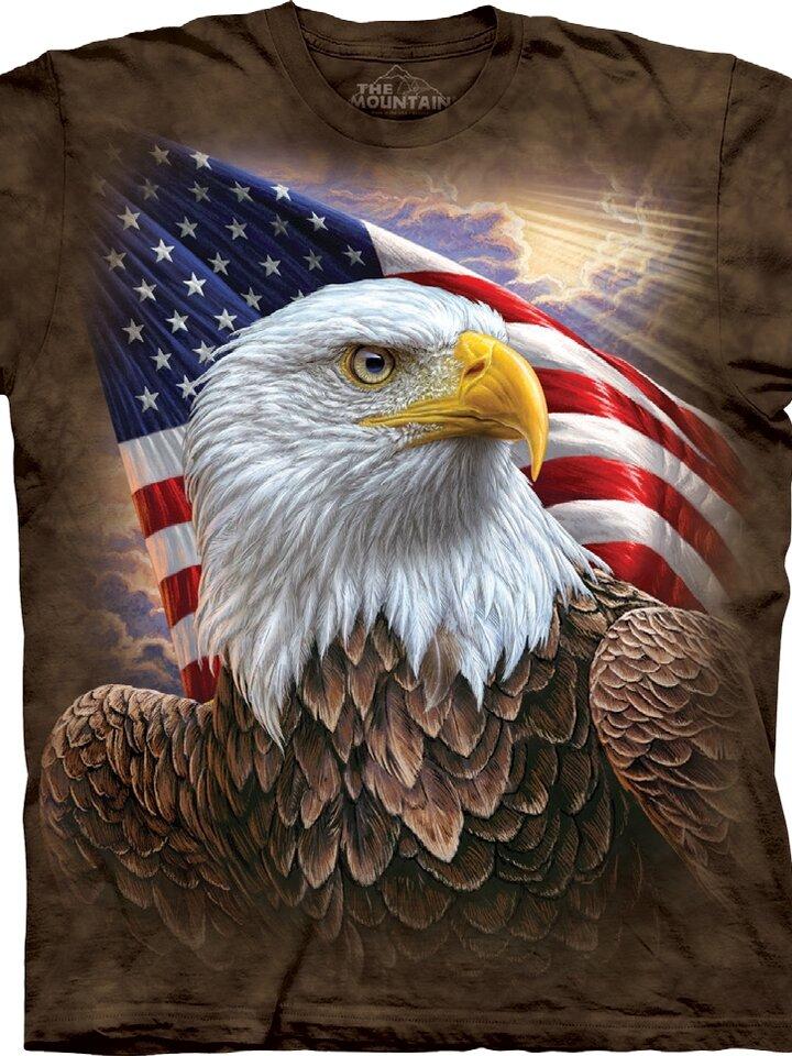Výprodej Tričko Profil amerického orla