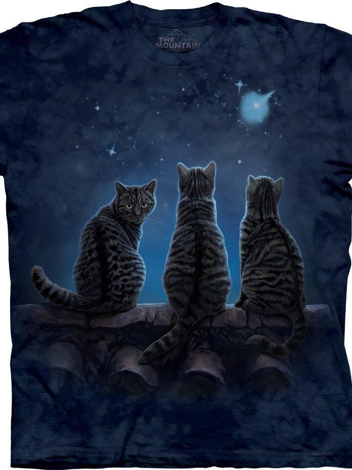 Lifestyle foto Tričko Kočičí setkání