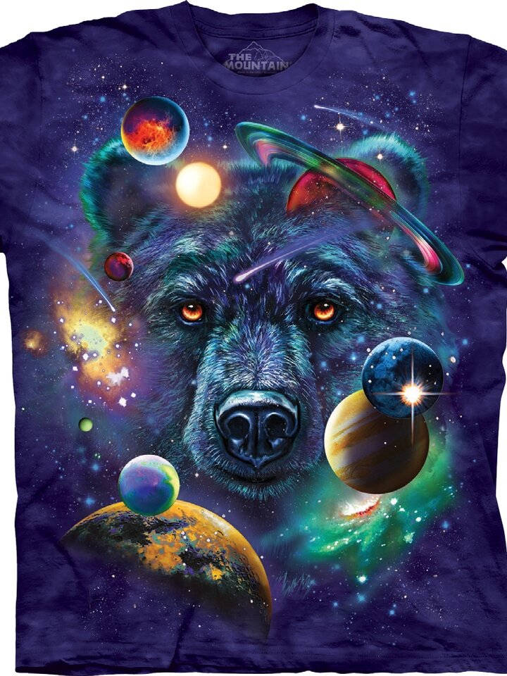 Lifestyle photo T-shirt Bear in Universe