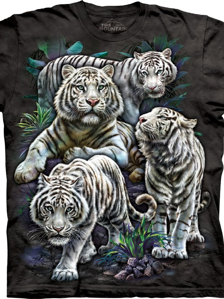 Looking for an original and unusual gift? The gifted person will surely surprise with T-shirt Tiger's Curiosity