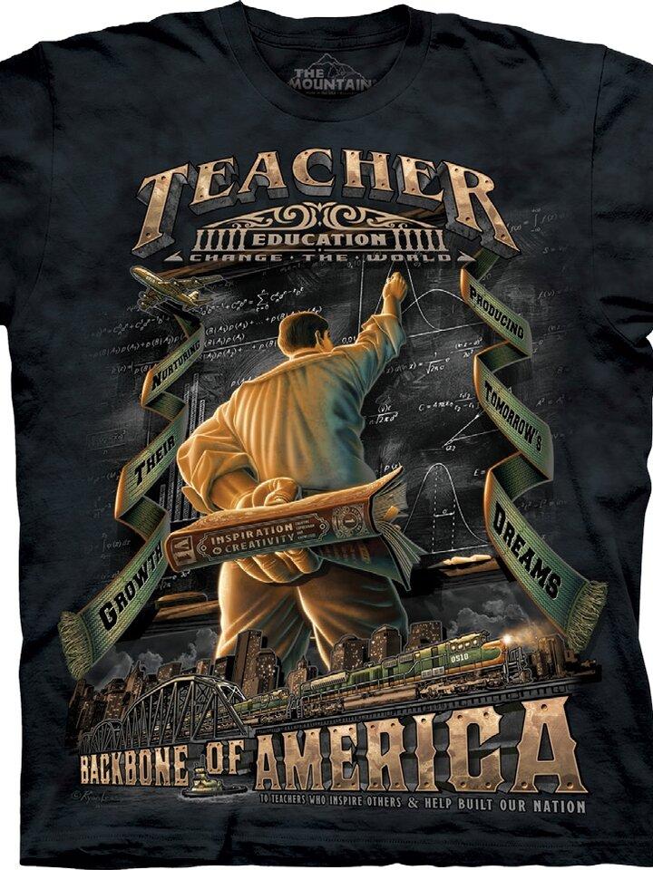 pro dokonalý a originální outfit Tričko Velký učitel