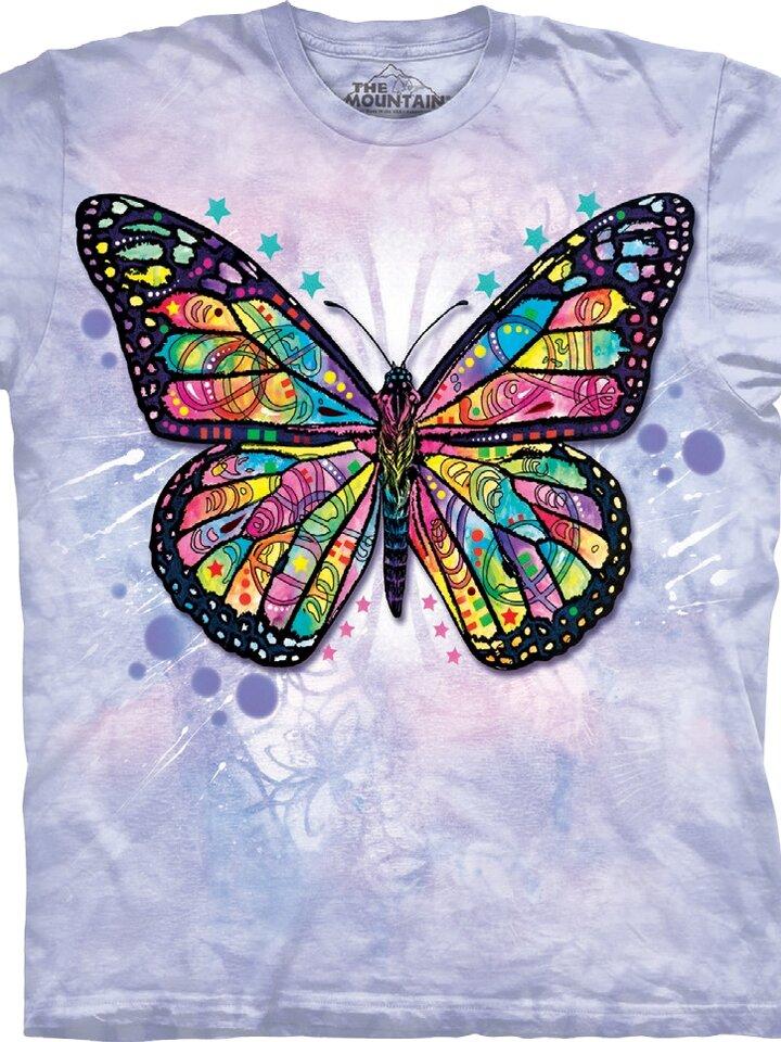 Hledáte originální a neobvyklý dárek? Obdarovaného zaručeně překvapí Tričko Motýlí krása