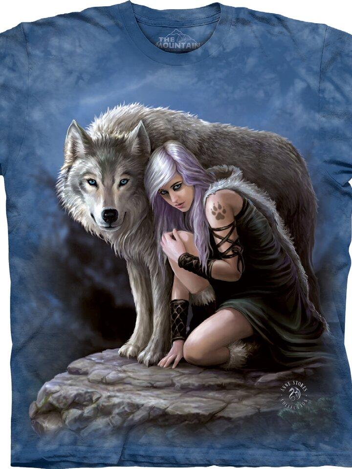 Eredeti ajándék a Dedolestől Farkas lány póló
