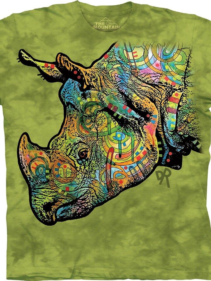 Hledáte originální a neobvyklý dárek? Obdarovaného zaručeně překvapí Tričko Barevný nosorožec