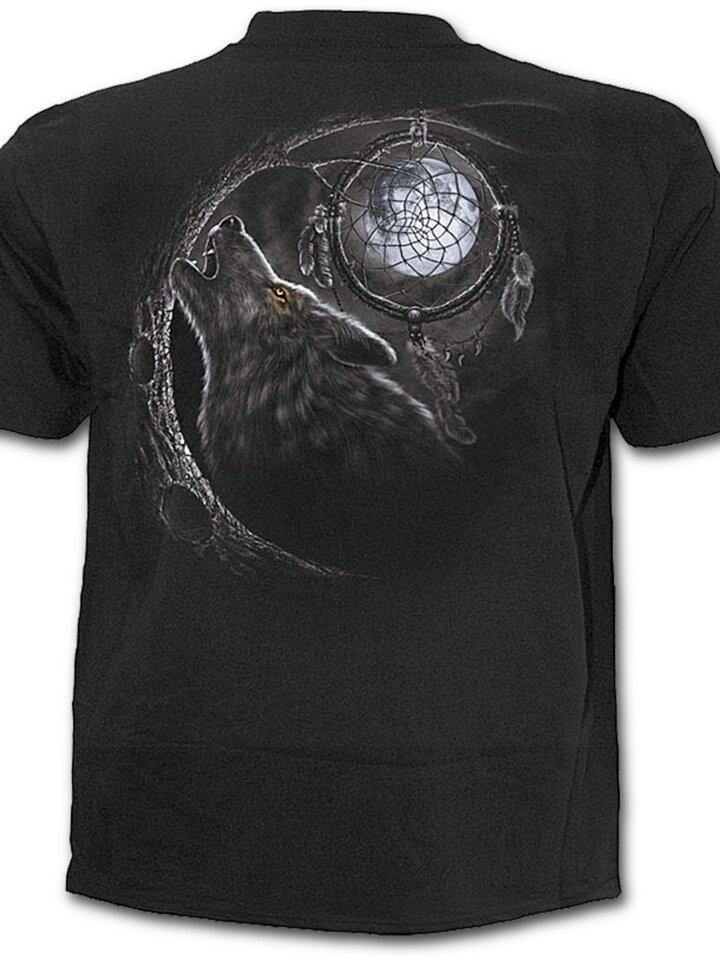 Lifestyle-Foto T-Shirt Wölfischer Blick