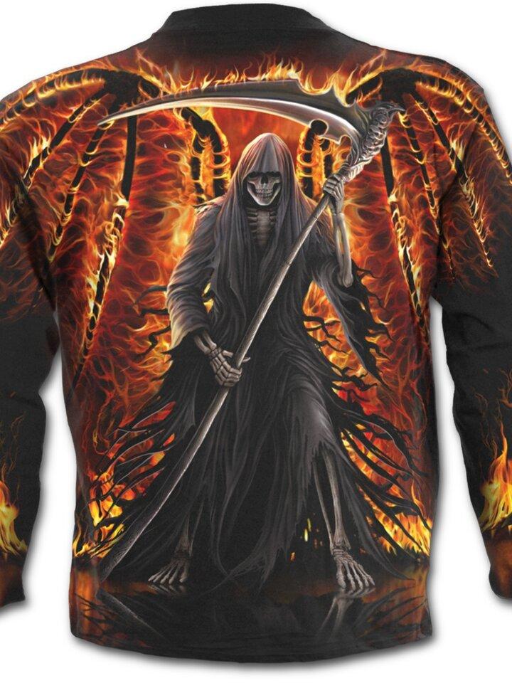 Gift idea Long Sleeve Fiery Wings