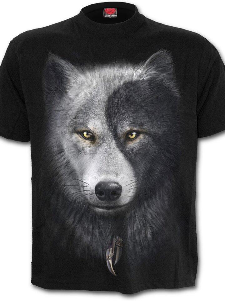 Wyprzedaż T-shirt Wolf's Face
