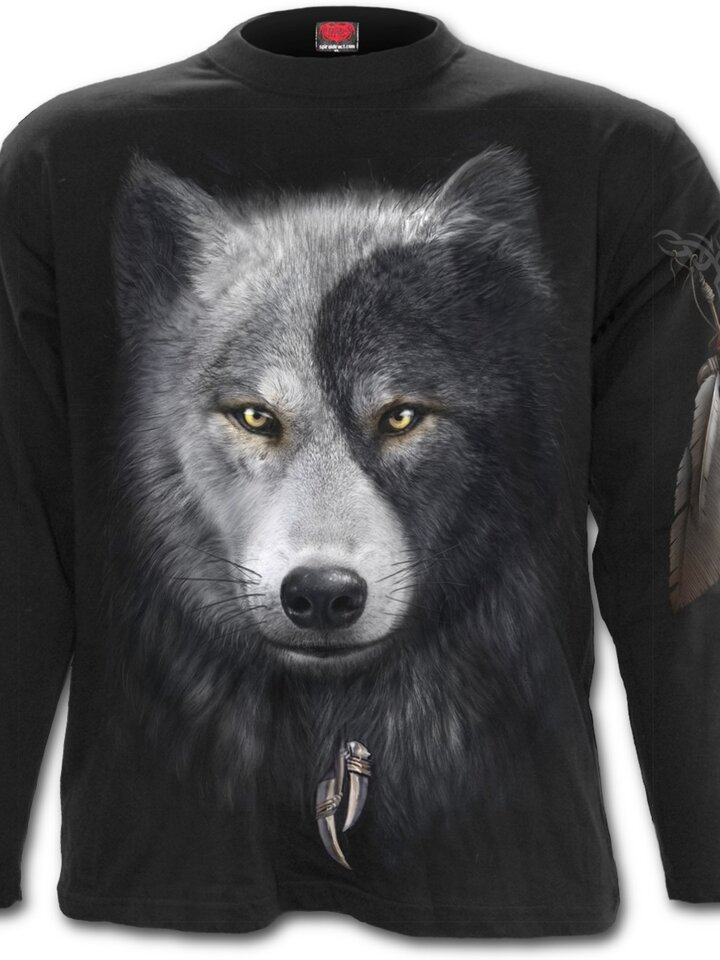 Lifestyle foto Long Sleeve Wolf's Face