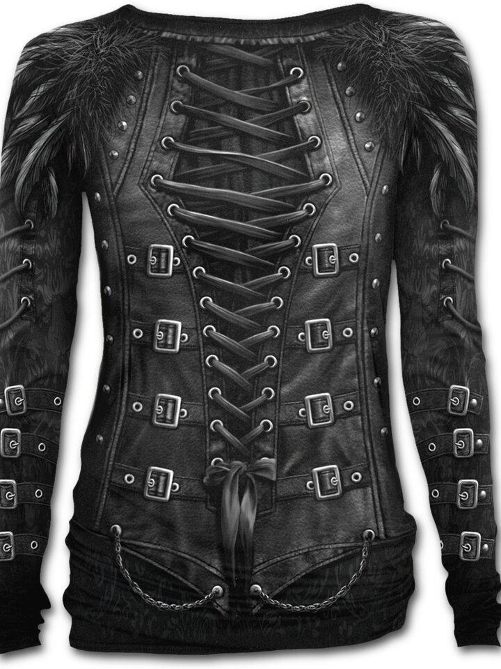 für ein vollkommenes und originelles Outfit Damen T-Shirt Gotische Königin