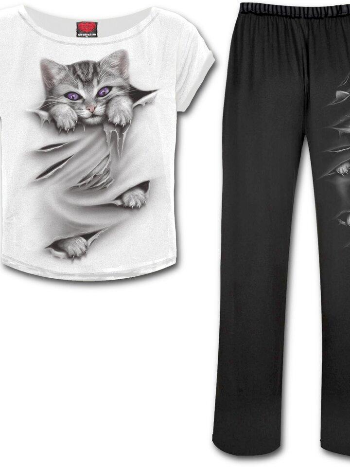Lifestyle photo Ladies' Pyjama Set Cat's Claws