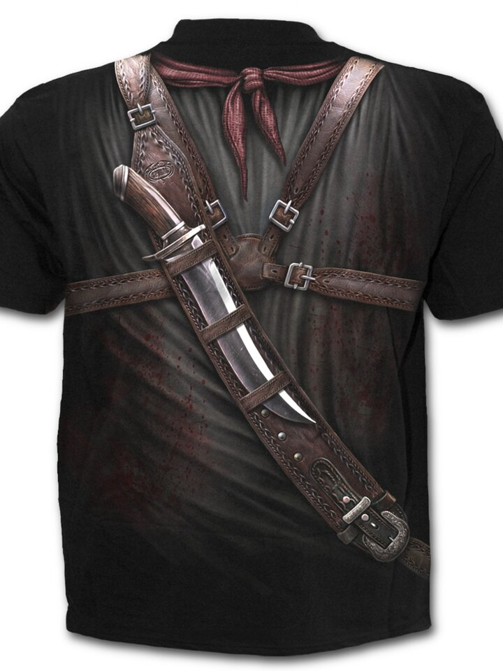 Bereiten Sie sich Freude mit diesem Dedoles-Stück T-Shirt Waffen im Futteral