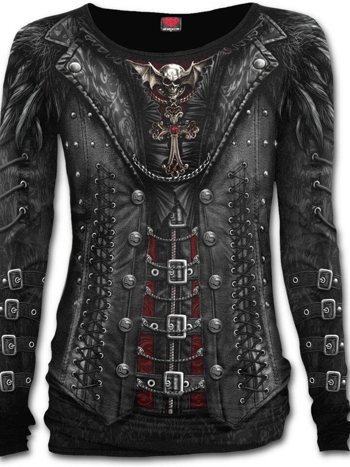 Lifestyle-Foto Damen T-Shirt Gotische Königin