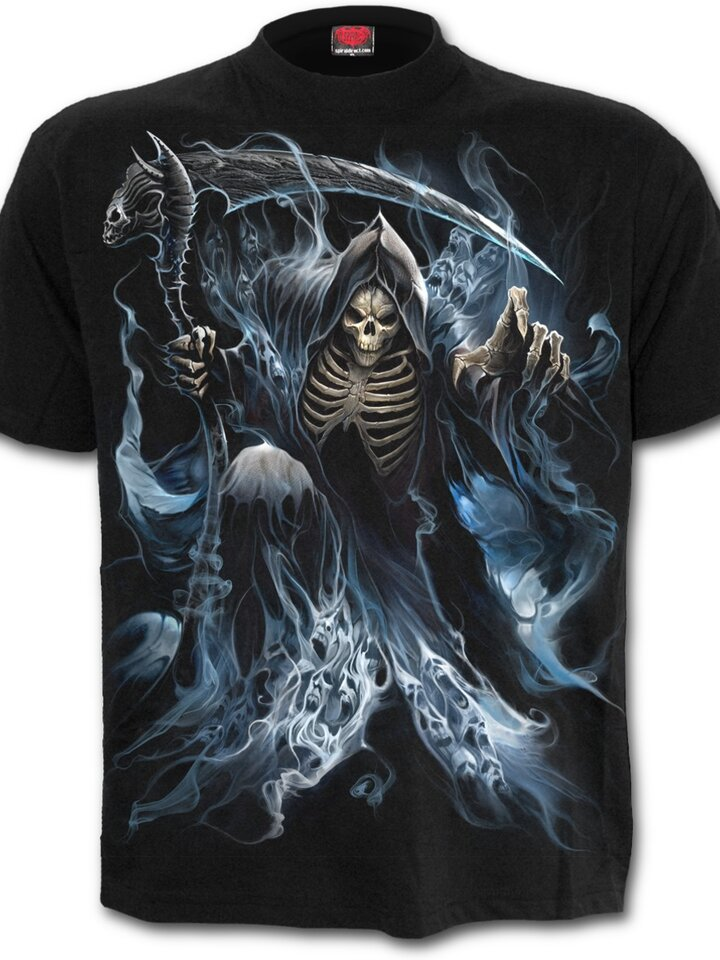 Looking for an original and unusual gift? The gifted person will surely surprise with T-shirt Dead Wizard