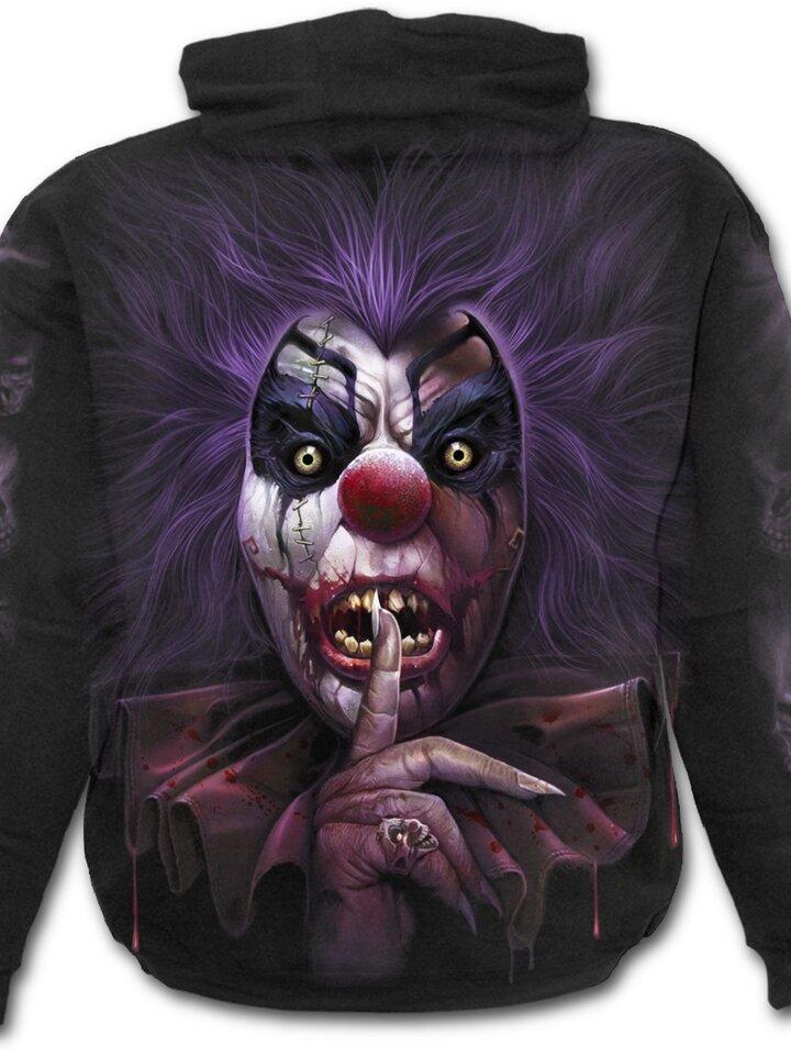 Dedoles oryginalny prezent Hoodie Bloody Clown