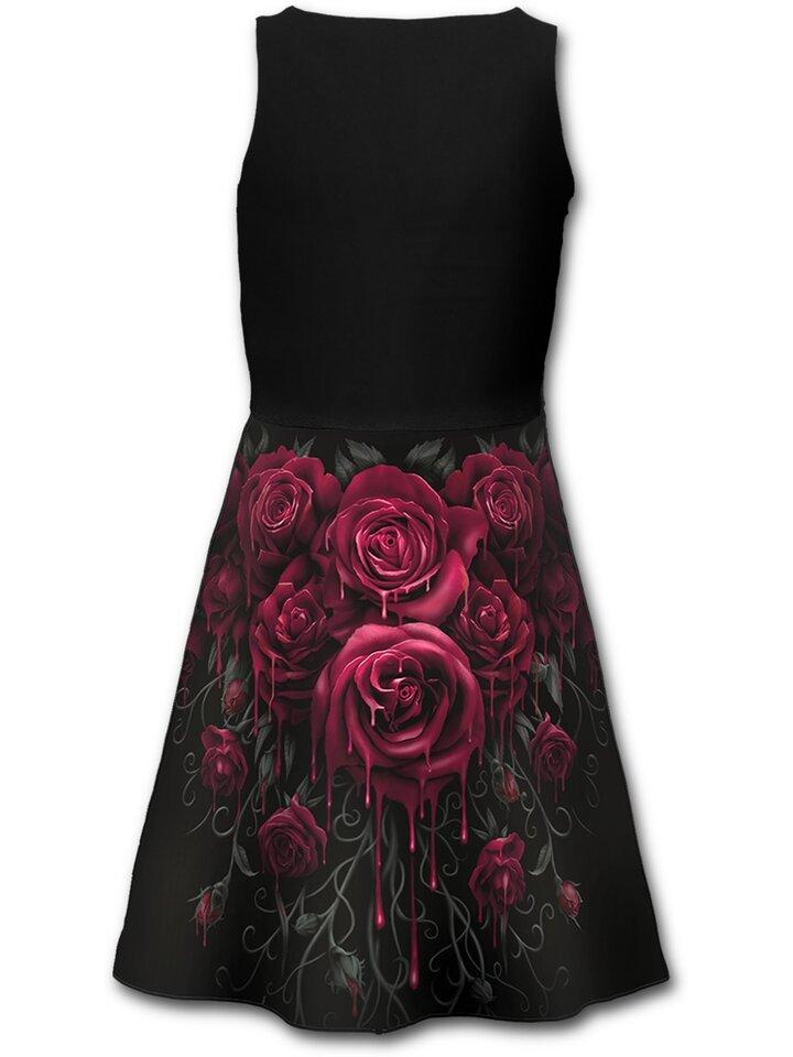 Lifestyle foto Midi šaty Krvavé ruže