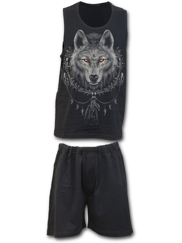 Foto Pyjama Set Wolf Face