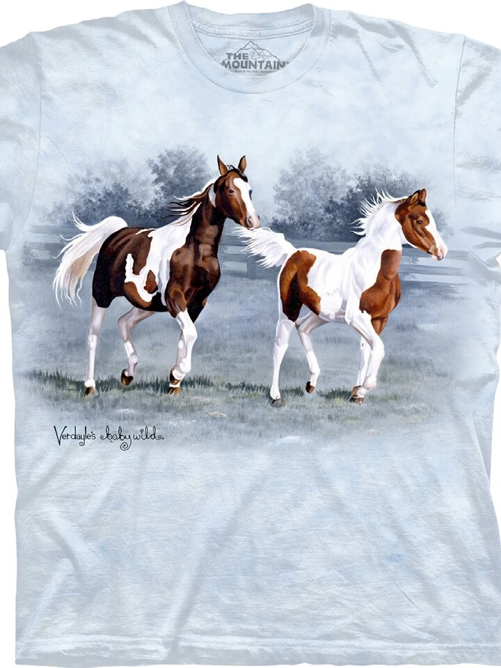 Výpredaj Tričko Dvojfarebné kone - detské