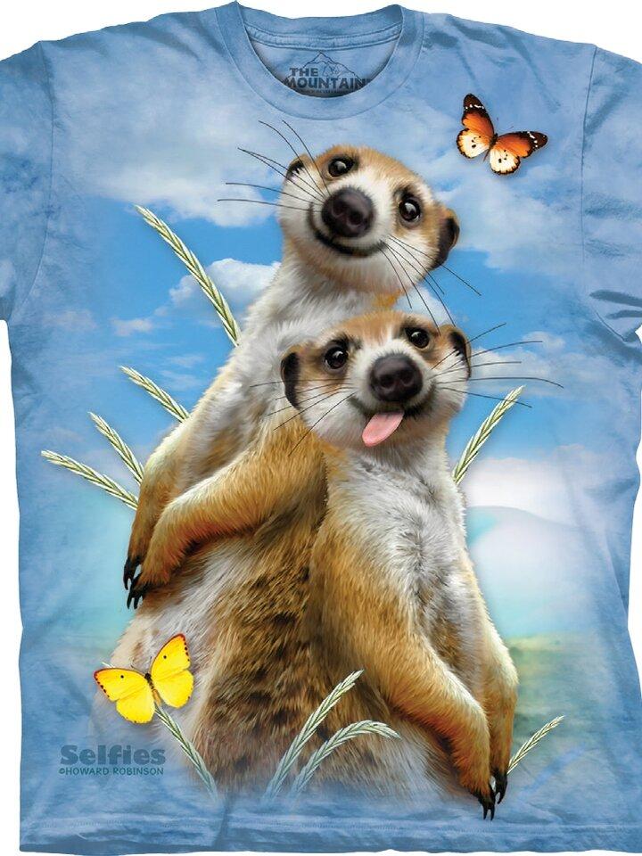 Pre dokonalý a originálny outfit TričkoVeselé surikaty - detské