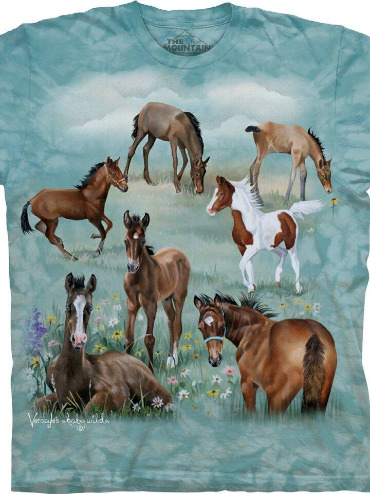 Výprodej Tričko Stádo koní - dětské