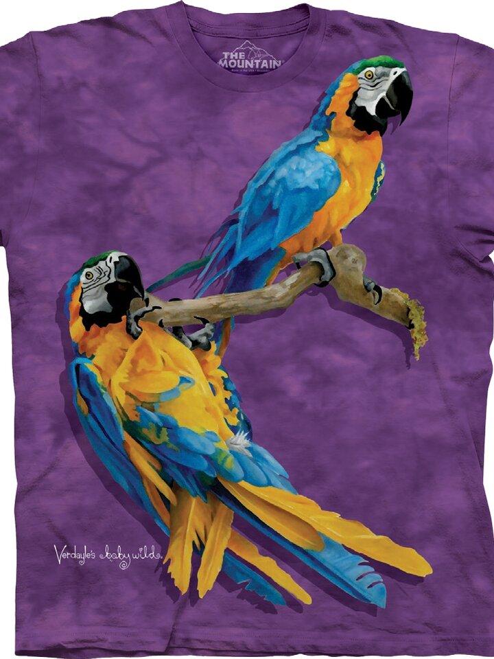 Výjimečný dárek od Dedoles Tričko Zvědaví papoušci - dětské