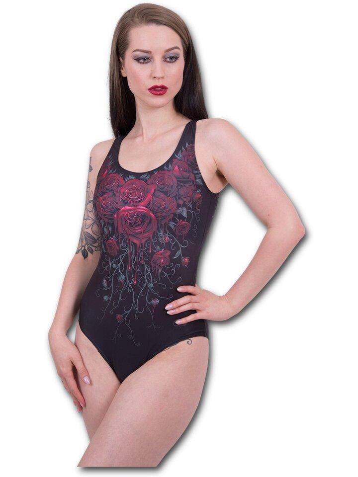 pro dokonalý a originální outfit Dámské plavky celé s motivem Krvavé růže