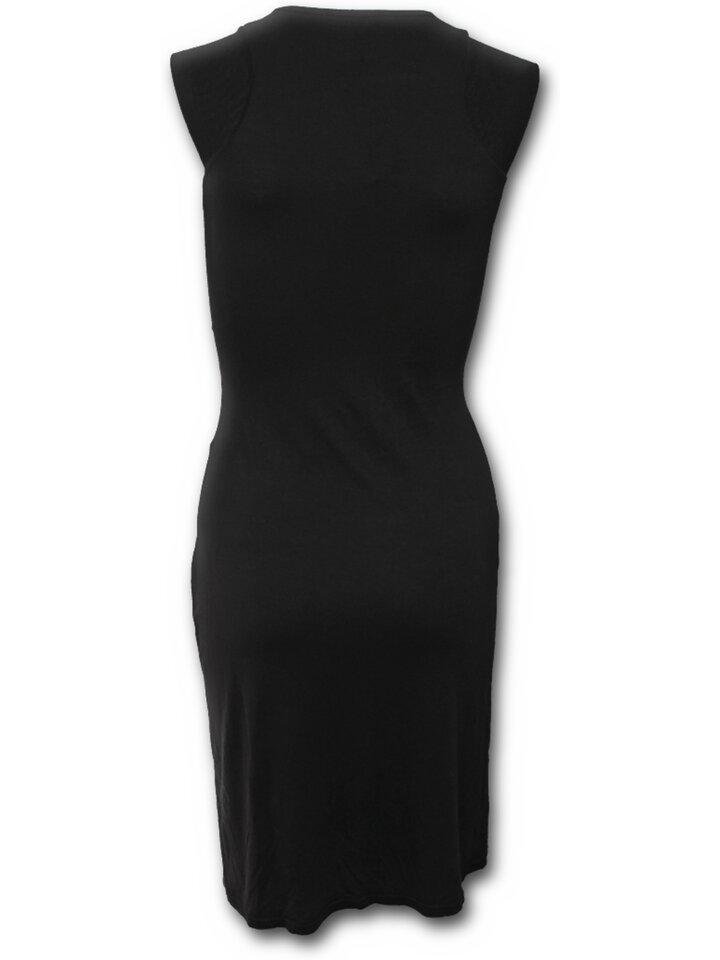 Hľadáte originálny a nezvyčajný darček? Obdarovaného zaručene prekvapí Čierne šaty bez rukávov