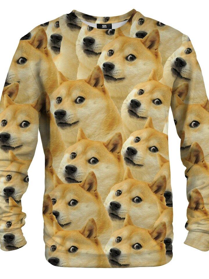 Pre dokonalý a originálny outfit Sweatshirt Doge Akita