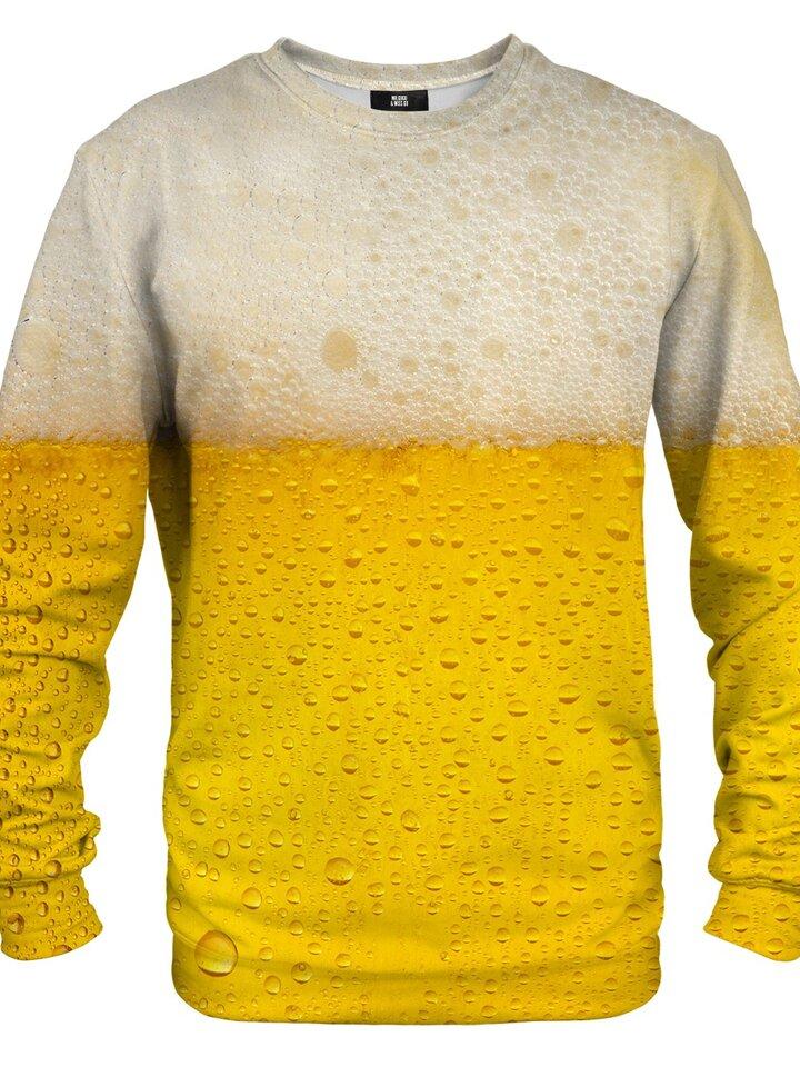 Pre dokonalý a originálny outfit Pulover brez kapuce Pivo