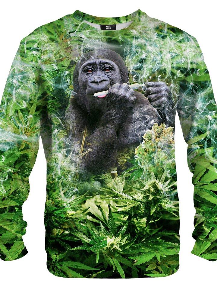 Výnimočný darček od Dedoles Dukserica bez kapuljače Nasmijana gorila