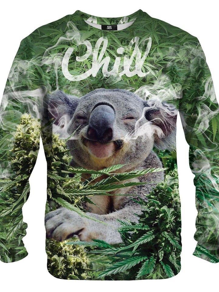 Hledáte originální a neobvyklý dárek? Obdarovaného zaručeně překvapí Mikina bez kapuce usměvavá koala
