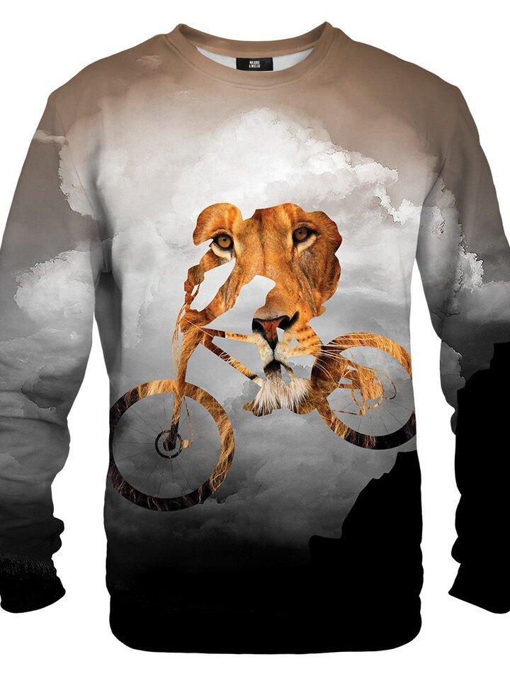 Výpredaj Pulover brez kapuce Strastni biker