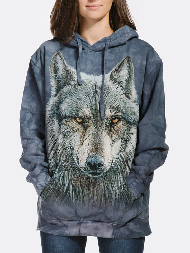 Pre dokonalý a originálny outfit Bluza z kapturem Zaklęty wilk