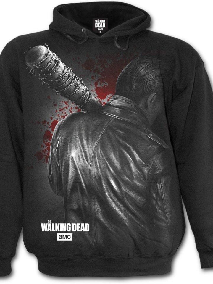 Lifestyle foto Hanorac Walking Dead cu motiv Negan - Just getting started egan - Just getting started