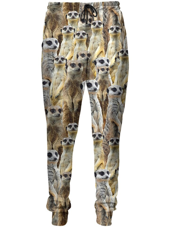 Original gift Unique Aladdin Sweatpants Meerkats
