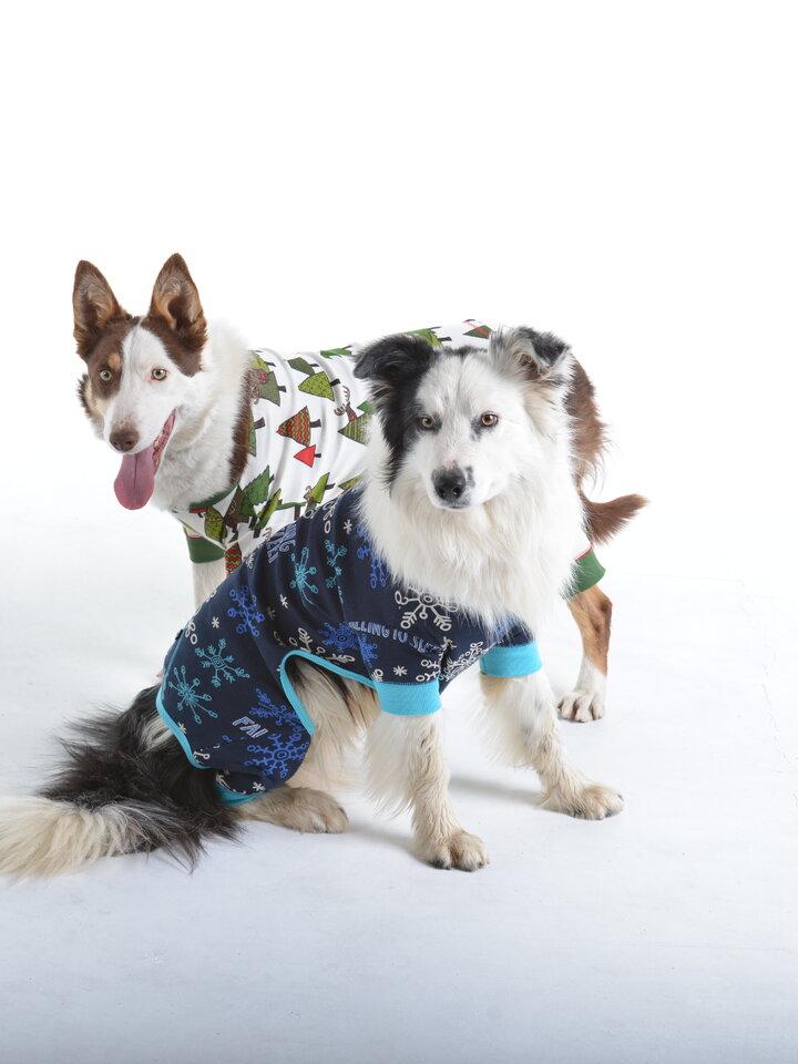 Suchen Sie ein originelles und außergewöhliches Geschenk? überrascht den Beschenkten sicher Blauer Hundeoverall Flocken