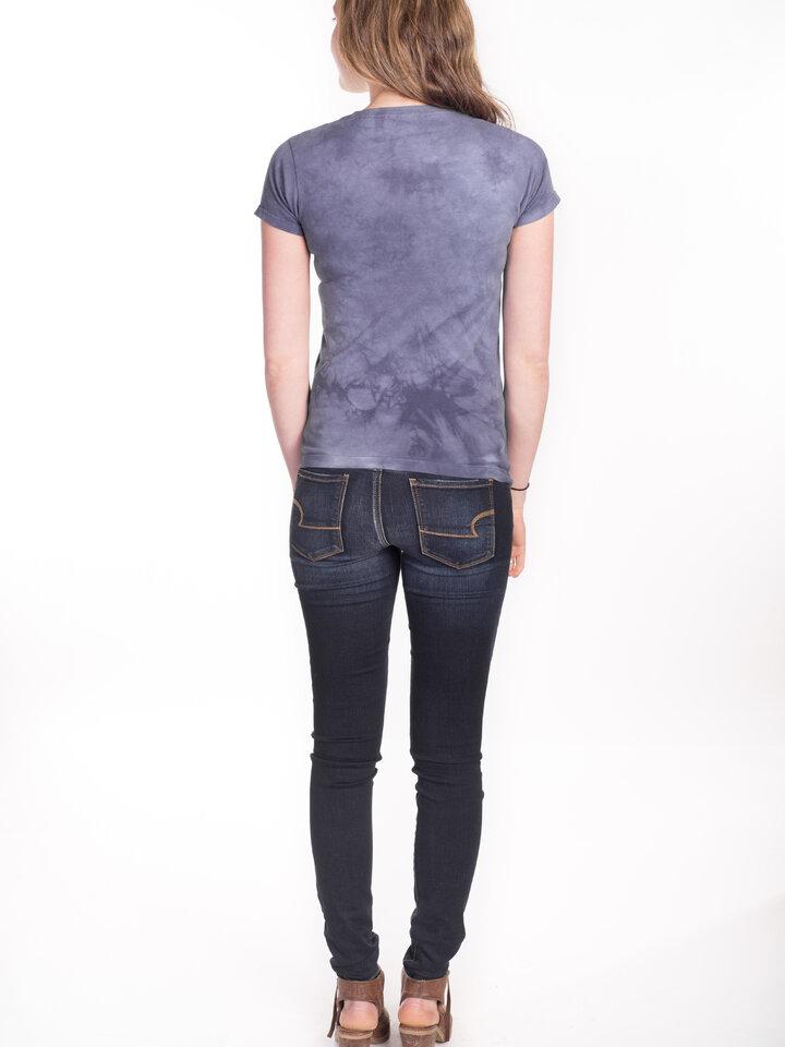 Rabatt Damen T-Shirt Stern über Einhörner